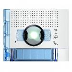 Bticino Sfera New - Façade - Caméra grand angle + 2 Boutons - Allwhite