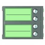Bticino Sfera New - Façade - 4 boutons - Robur
