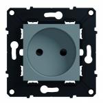 Prise de courant - 2P - 10/16A - Arnould Espace Evolution - Magnésium