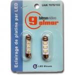 Lampe navette - LED - Bleue - Bitron UAK7076/102