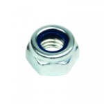 Ecrou de 8 mm - Avec bague nylon - Boite de 40