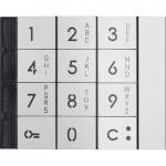 Façade alphanumérique du clavier métal - Bticino BT353011