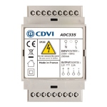 Alimentation - A découpage - 12 Volts - DC - 3A - 3 Modules - CDVI ADC335
