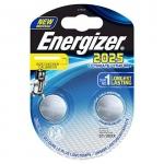 Pile bouton haute performance - Energizer CR2025 - Lithium - Energizer 423013