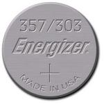 Pile Montre à l'oxyde d'argent - Energizer 357 / 303 - 1.55 Volts
