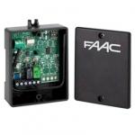 Récepteur radio FAAC XR2 433 fréquence 433 Mhz 2 canaux