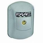 Kit de déverrouillage extérieur à cable Faac