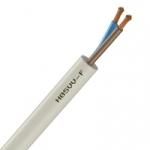 Cable Souple H05VV-F - 2x0.75 mm² - Blanc - Couronne de 50 mètres