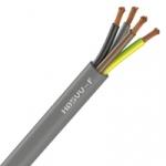 Cable Souple H05VV-F - 4G1.5 mm² - Gris - Couronne de 50 mètres