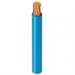 Fil rigide H07-VR 1 x 10 mm² - Bleu - Couronne de 100 mètres