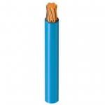 Fil rigide H07-VR 1 x 16 mm² - Bleu - Au mètre
