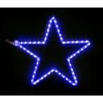 Mini étoile bleue cordon LED 28x28cm Festilight