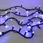 Guirlande 10M 100 LEDS bleues pétillantes blanches Festilight