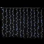 Rideau 240 LEDS blanches pétillantes blanches Festilight