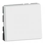Va et vient - 2 modules - 10A - Blanc - Legrand Mosaic 077011L