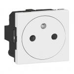 Prise de courant - 2P+T - Surface - Blanc - Legrand 077111L