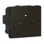 Prise de courant - 2P+T - Surface - Noir Mat - Legrand 079121L
