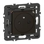 Prise de courant - 2P+T et USB C - Noir Mat - Legrand 079161L