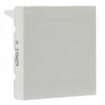 Obturateur 2 modules blanc Legrand Mosaic