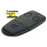 Telecommande Cardin Fr�quence 433.92 Mhz 2 canaux S449-qz2 - Lot de 2 + 1 offerte