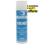 Mousse active d�sinfectante pour climatiseur - Lot de 2 + 1 offerte