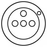 Enjoliveur - Prise de courant 2P+T � voyant - Legrand C�liane - Blanc
