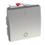 Interrupteur Bipolaire 16 A - Aluminium - Schneider Altira