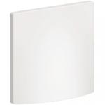 Sortie de Cable 16A / 20A - Blanc - A Vis - Schneider Ovalis - Complet