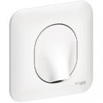 Sortie de Cable 16A - Blanc - A Griffes - Schneider Ovalis - Complet