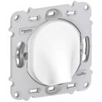Sortie de Cable 16A - Blanc - A Vis - Schneider Ovalis