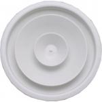 Diffuseur circulaire - A cône réglable - Blanc - 200 mm - Unelvent 854116