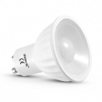Lampe à LED - GU10 - 6 Watts - 4000K - 230 Volts - Vision-El 7824