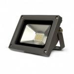 Projecteur extérieur à LED - Vision-EL - 10W - 3000K - Gris - IP65