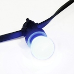 Ampoule � LED blanche B22 0.3W 230V 50mm