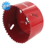 Scie cloche HSS bi-métal diamètre 80 mm