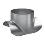 Piquage express galvanisé diamètre 125 x 125 mm