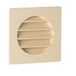Grille extérieure - Pour tube PVC avec moustiquaire PVC diamètre 100mm - Nicoll 1GETM100