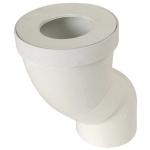 Pipe orientable pour WC - Diamètre 100 mm - Nicoll 1PWOR