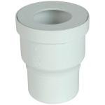 Pipe droite pour WC - Diamètre 100 mm - Nicoll 1QW33