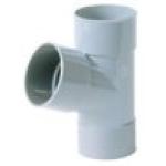 Culotte Simple PVC - Femelle / Femelle - 67°30 - Diamètre 40 mm - Nicoll BH166