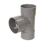 Culotte Simple PVC - Femelle / Femelle - 87°30 - Diamètre 75 mm - Nicoll BP188