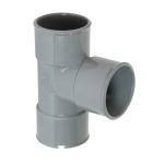 Culotte Simple PVC - Femelle / Femelle - 87°30 - Diamètre 80 mm - Nicoll BR188