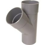Culotte Simple PVC - Mâle / Femelle - 45° - Diamètre 100 mm - Nicoll BT14