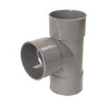Culotte Simple PVC - Femelle / Femelle - 87°30 - Diamètre 100 mm - Nicoll BT188