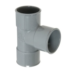 Culotte Simple PVC - Femelle / Femelle - 87°30 - Diamètre 125 mm - Nicoll BX188