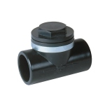 Clapet Anti-retour PVC Pression - Femelle / Femelle - Diamètre 63 mm - Nicoll CARL