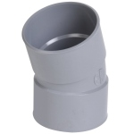 Coude PVC - Femelle / Femelle - 20° - Diamètre 32 mm - Nicoll  CF22