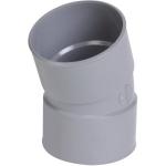 Coude PVC - Femelle / Femelle - 20° - Diamètre 40 mm - Nicoll CH22