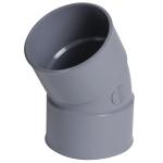 Coude PVC - Femelle / Femelle - 30° - Diamètre 40 mm - Nicoll CH33