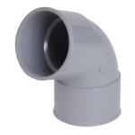 Coude PVC - Femelle / Femelle - 67°30 - Diamètre 40 mm - Nicoll CH66